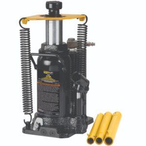 Omega 12 ton external spring air bottle jack
