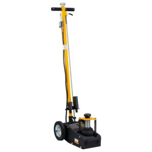 Omega 22 ton low profile air/hyd axle jack