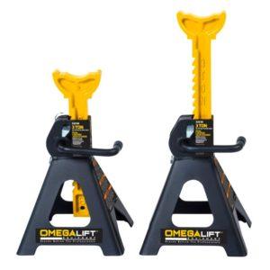 Omega 3 ton dual locking jack stands