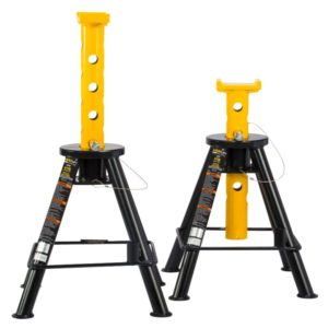 Omega 10 ton pin style jack stands