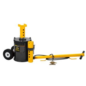 Omega 10 ton air jack with support stand