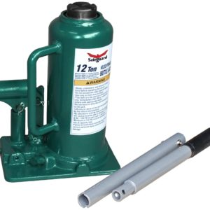 Safeguard 12 ton welded inline bottle jack