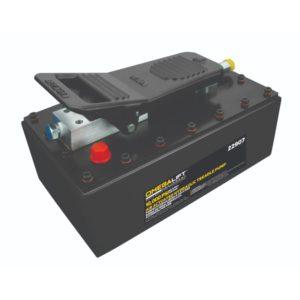 Omega treadle pump