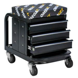Omega mechanics toolbox shop seat