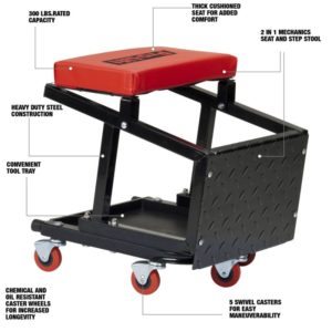 Pro-Lift 2-in-1 seat/stool