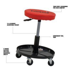 Pro-Lift 300 lbs. pneumatic stool