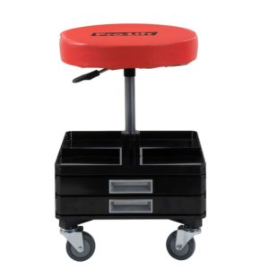 Pro-Lift 300 lbs. pneumatic stool with drawers